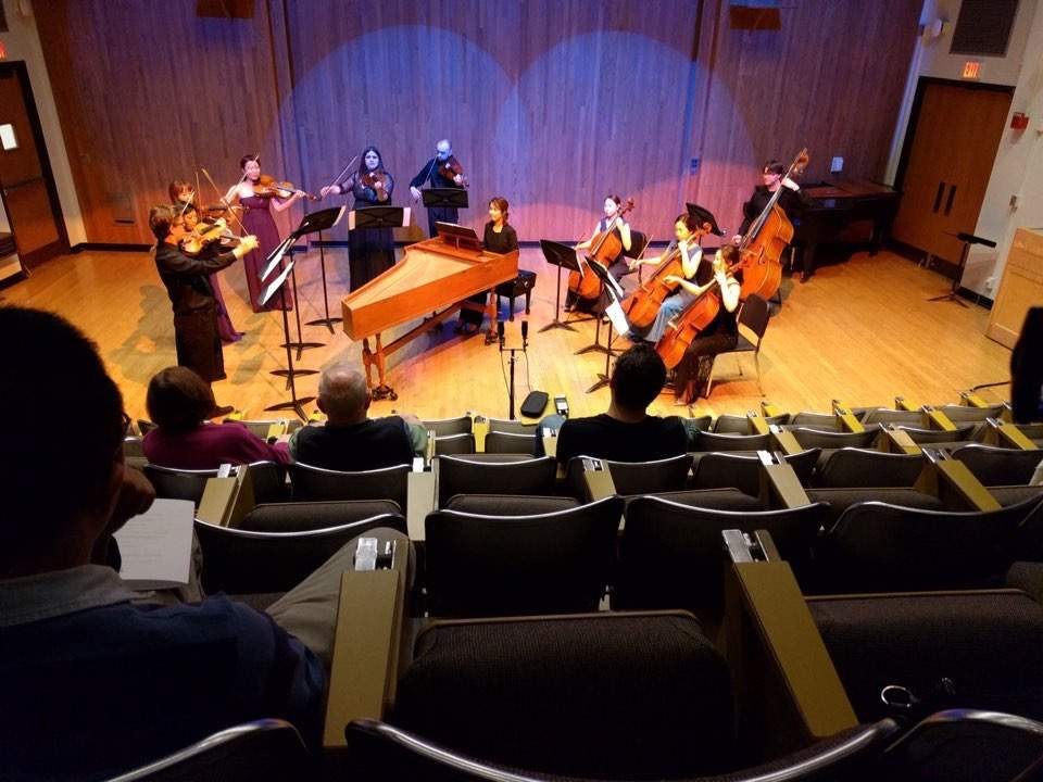 Baroque Concert in Music Building, University of Illinois