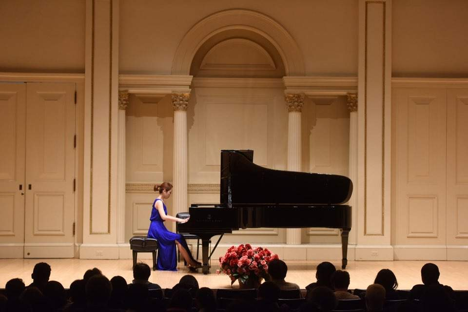 Concert in Carnegie Hall in New York City