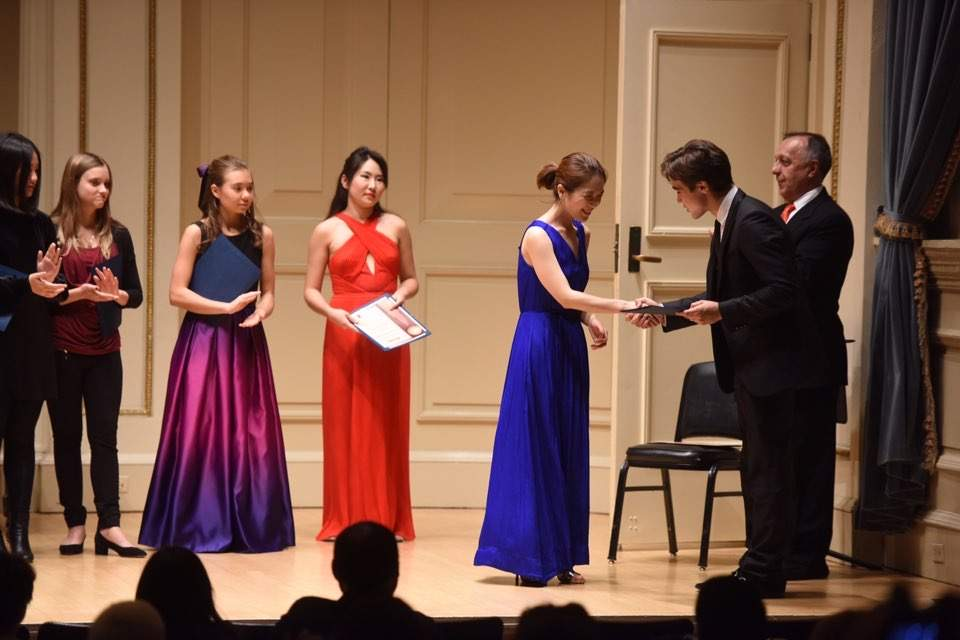 Concert in Carnegie Hall